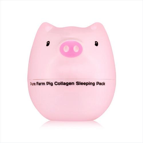 Tony Moly Антивозрастная ночная маска на основе коллагена 80 мл (Pig Collagen)