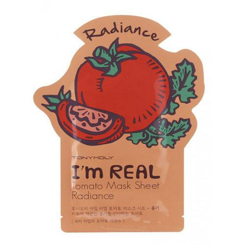 Одноразовая маска с экстрактом томатов 21 мл (I am real)