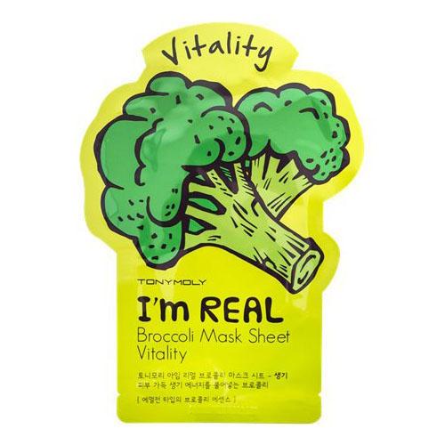 Tony Moly Одноразовая маска для лица с экстрактом брокколи 21 мл (I am real)