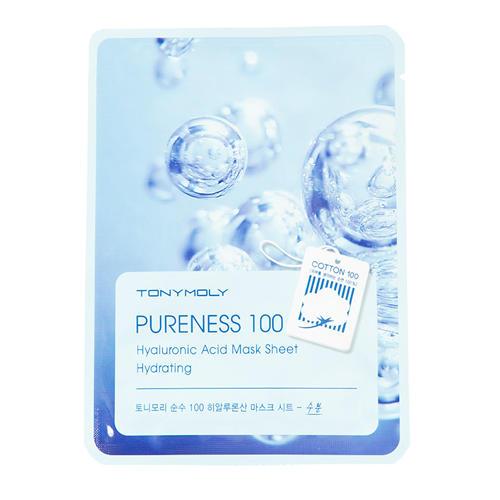 Тканевая маска для лица с гиалуроновой кислотой 21 мл (Pureness)