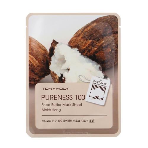 Тканевая маскпа с экстрактом масла ши 21 мл (Pureness)