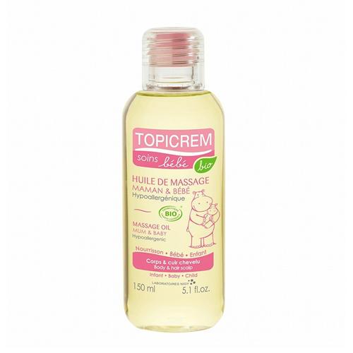 Topicrem Массажное масло для тела и кожи головы 150 мл (Bebe Bio)