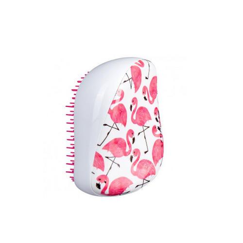 Расческа для волос Compact Styler Фламинго (белая) 1 шт (Tangle Teezer, Compact Styler)