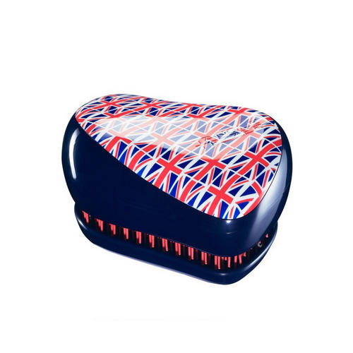 Расческа для волос Compact Styler Cool Britannia 1 шт (Tangle Teezer, Compact Styler)