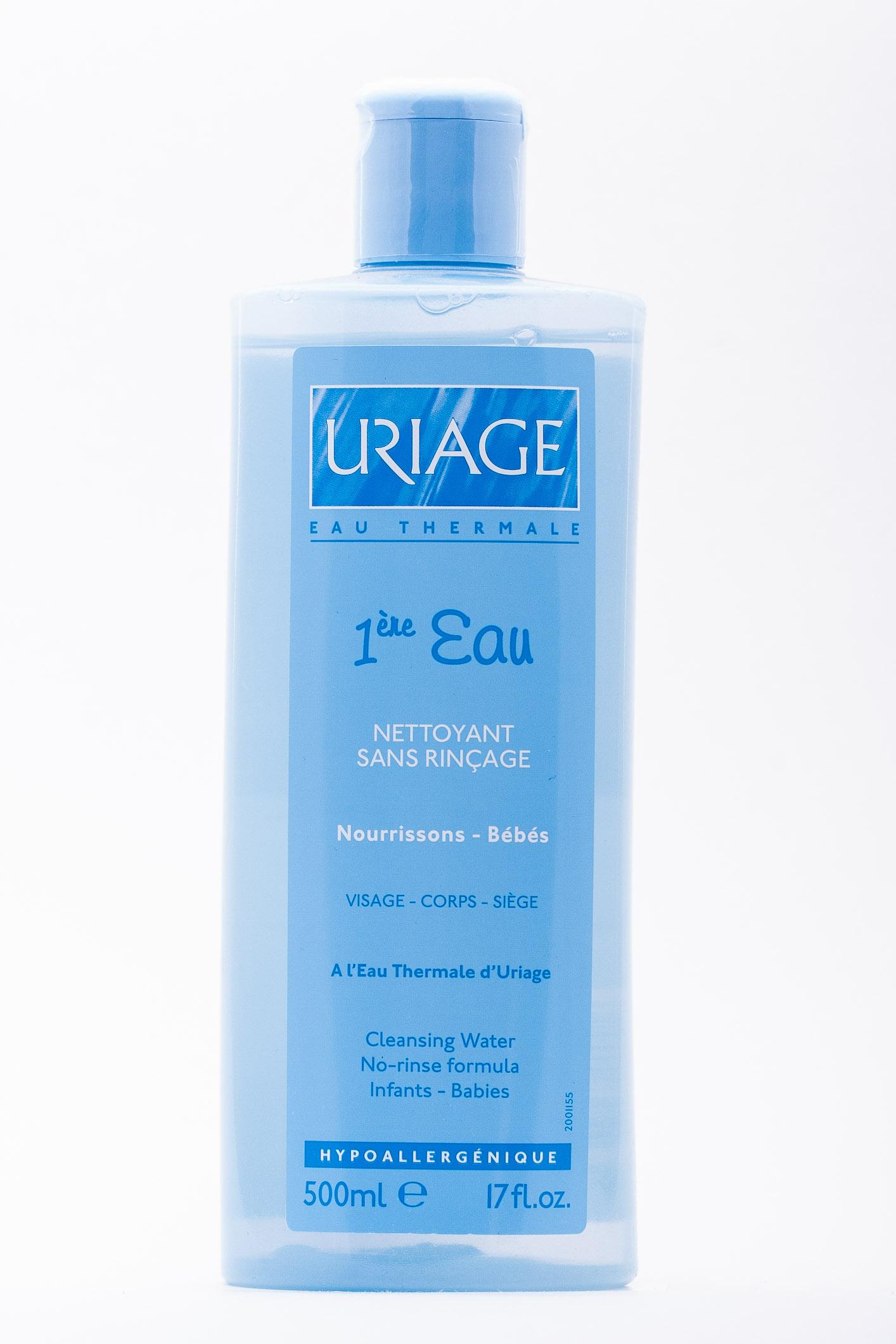 Uriage Первая вода - Очищающая вода для детей и новорожденных 500 мл (Детская гамма)