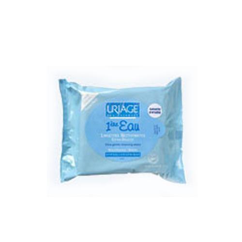 Первая вода Очищающие сверхмягкие салфетки для детей и новорожденных 25 шт. (Uriage, Детская гамма) салфетки mustela мустела бебе салфетки для лица очищающие детские 25 шт 25 штук