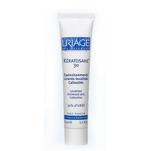 Uriage Кератозан-30 гель-крем для мозолистых образований и локализованных утолщений 75 мл (Keratosane)