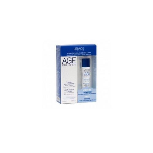Набор Эйдж Протект дневной крем 40 мл сыворотка 10 мл (Uriage, Age Protect) урьяж изоденс сыворотка отзывы