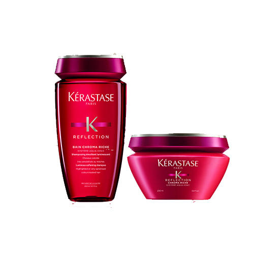 Набор Reflection (шампуньванна маска) 1 шт. (Kerastase, Reflection) kerastase reflection bain chromatique riche shampoo