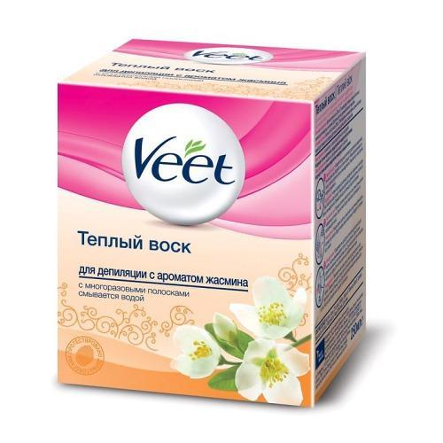 Теплый воск для депиляции с ароматом жасмина 250мл (Veet, Для депиляции) italwax набор длявосковой депиляции воск в картридже