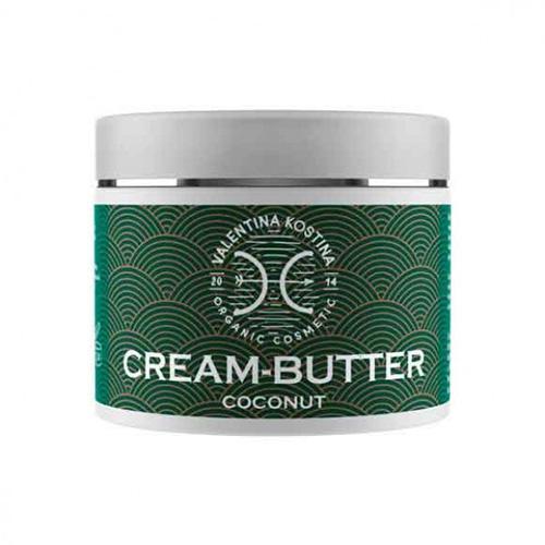 Valentina Kostina Крем-баттер для тела кокосовый Cream Butter Coconut 200 мл (Organic Cosmetic)