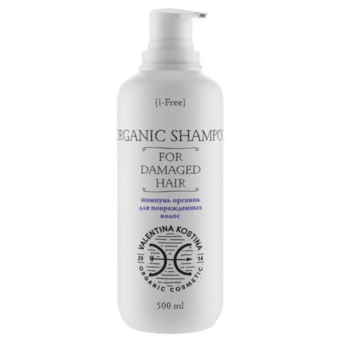 Valentina Kostina Безсульфатный шампунь для поврежденных волос 500 мл (Organic Cosmetic)