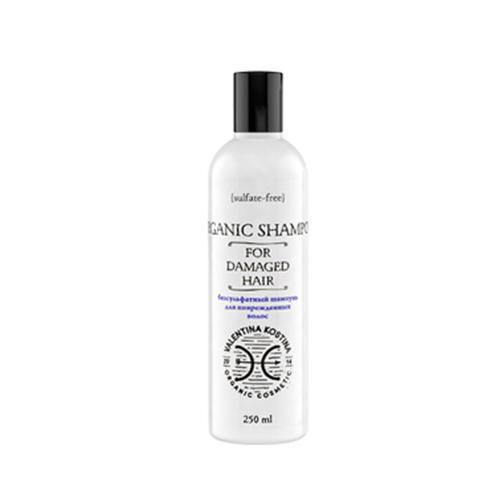 Valentina Kostina Безсульфатный шампунь для поврежденных волос 250 мл (Organic Cosmetic)