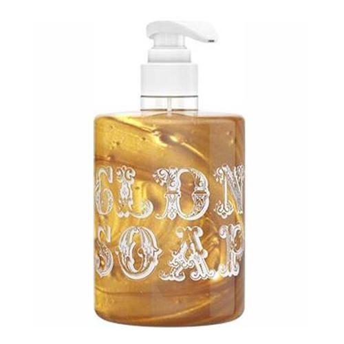 Жидкое мыло Золотое Golden Soap с дозатором 300 мл (Valentina Kostina, Organic Cosmetic) жидкое мыло черное black soap с дозатором 300 мл valentina kostina organic cosmetic