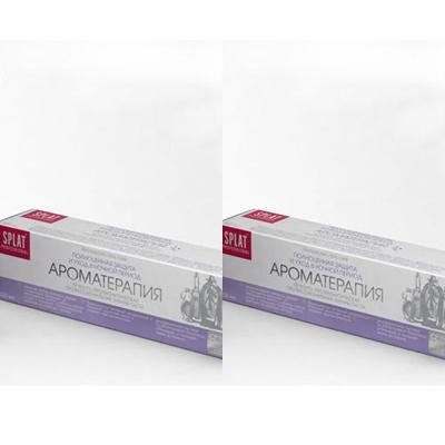 Splat Набор Лечебно-профилактическая профессиональная зубная паста Ароматерапия 100 мл*2 штуки (Splat, Professional) фото