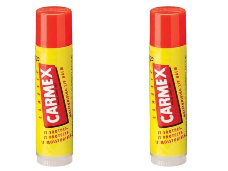 Carmex Набор Бальзам для губ классический 4, 25 гр*2 штуки (Carmex, Lip Balm), США  - Купить