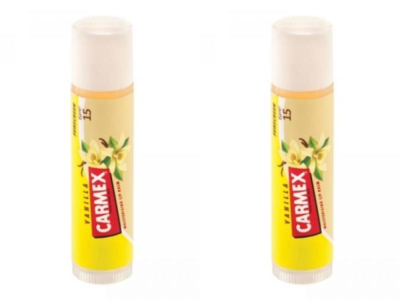Купить Carmex Набор Бальзам для губ с запахом ванили с защитным фактором SPF 15 в стике, 1 шт*2 штуки (Carmex, Для губ), США