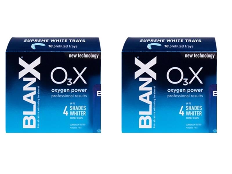 Blanx Набор Отбеливающие капы сила кислорода*2 штуки (Blanx, Специальный уход Blanx)