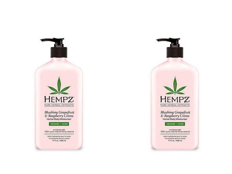 Купить Hempz Набор Молочко для тела увлажняющее 500 мл*2 штуки (Hempz, Грейпфрут и малина), США