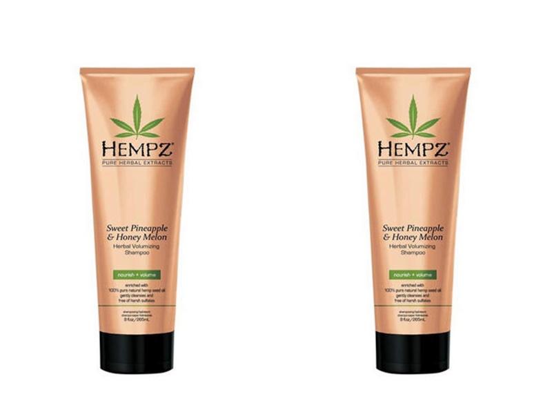 Hempz Набор Шампунь растительный для придания объёма 265 мл*2 штуки (Hempz, Ананас и медовая дыня) шампунь растительный для придания объёма 265 мл hempz ананас и медовая дыня