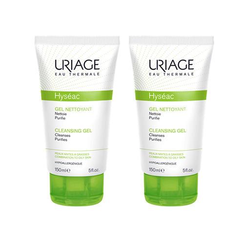 Uriage Комплект Мягкий очищающий гель Исеак 2 шт х 150 мл (Uriage, Hyseac) урьяж мицеллярная вода очищающая для кожи склонной к покраснению 250 мл uriage гигиена uriage