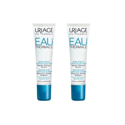 Купить Uriage Комплект Увлажняющий крем для контура глаз Eau thermale 2 шт х 15 мл (Uriage, Eau thermale), Франция