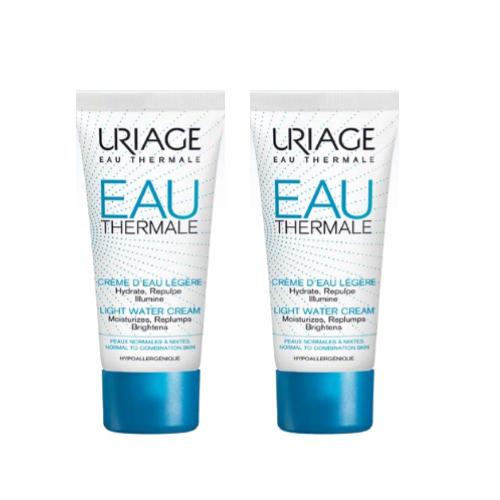 Uriage Комплект Легкий увлажняющий крем Eau thermale 2 шт х 40 мл (Uriage, Eau thermale)