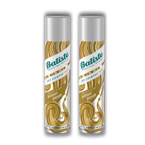 Купить Batiste Комплект Light Brilliant Blonde Сухой шампунь 2 шт х 200 мл (Batiste, Dry Shampoo Plus), Великобритания