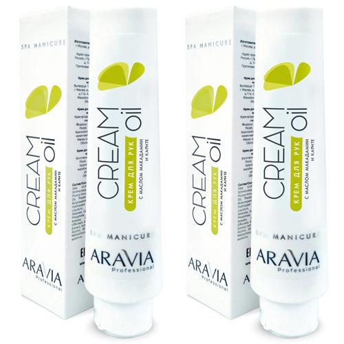 Купить Aravia professional Комплект Крем для рук Cream Oil с маслом макадамии и карите 2 шт х 100 мл (Aravia professional, SPA маникюр), Россия
