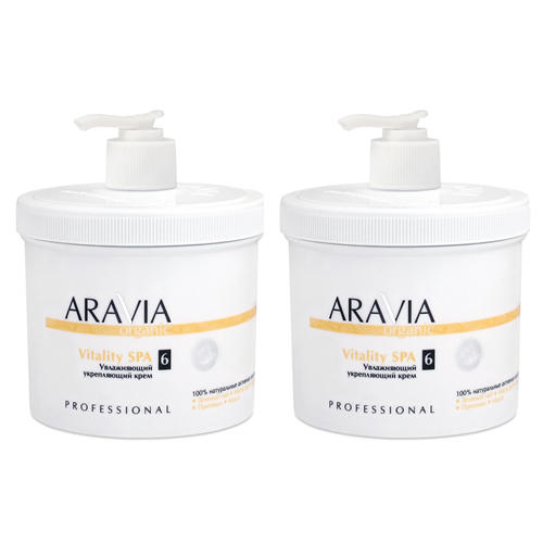 Купить Aravia professional Комплект Крем увлажняющий укрепляющий 2 шт х 550 мл (Aravia professional, Уход за телом), Россия