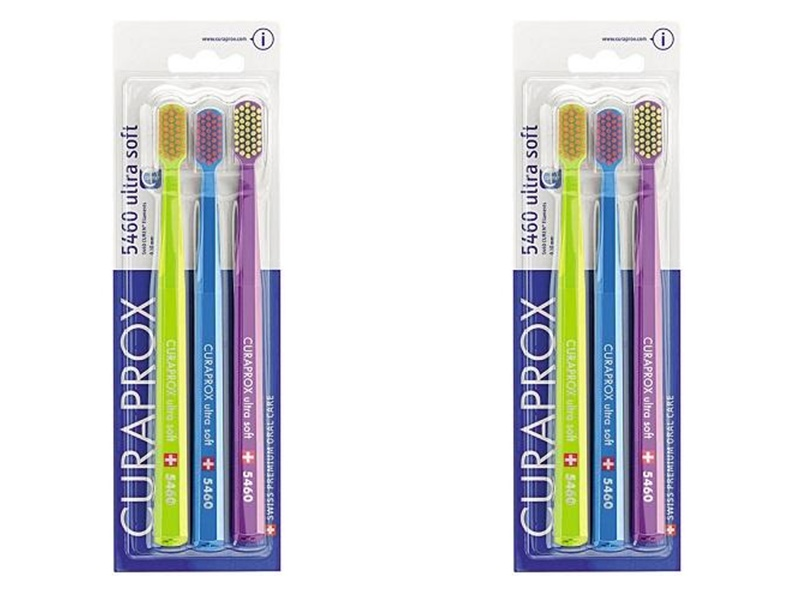 Curaprox Набор ультрамягких зубных щеток 3 штуки*2 штуки (Curaprox, Мануальные зубные щетки)