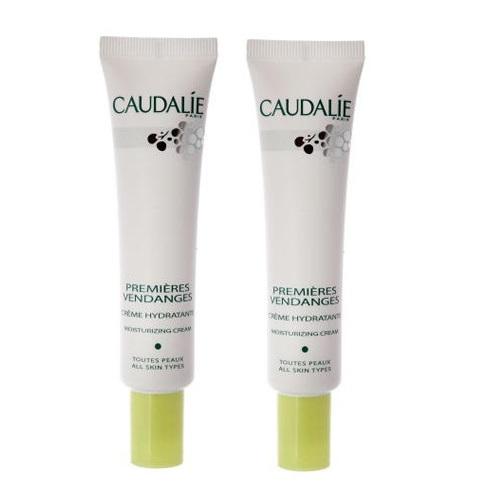 Купить Caudalie Набор Крем для лица Premiers Vendages увлажняющий с антиоксидантами, 40 мл*2 штуки (Caudalie, Cleanser & Toners), Франция