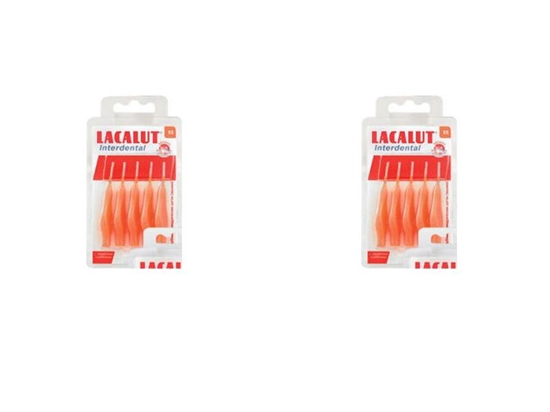 Купить Lacalut Набор Интердентальный ершик р-р S, 5 шт.*2 штуки (Lacalut, Интердентал), Германия