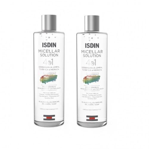 Isdin Комплект Вода мицеллярная 2х400 мл (Isdin, Micellar solution)