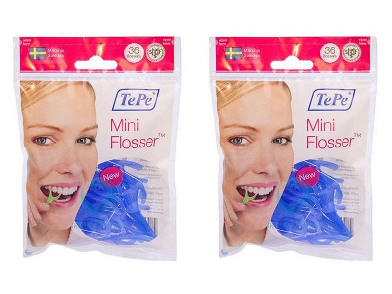 Biorepair Набор Зубная нить с держателем Hand-Held Flosser, 36 шт*2 штуки (Biorepair, Уход за зубами)