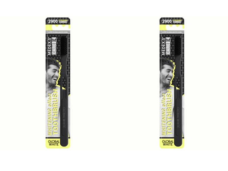 Купить Global white Набор Зубная щётка Medium средняя 1 шт.*2 штуки (Global white, Зубные щетки), Италия