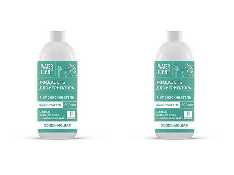 Купить Global white Набор Концентрат Ополаскиватель + Жидкость для ирригатора Фитокомплекс со фтором 500 мл*2 штуки (Global white, Waterdent), Италия
