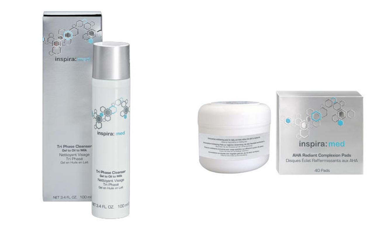 Inspira:cosmetics Набор Тотальное очищение, 2 продукта (Inspira:cosmetics, Inspira MFA: Expert+)