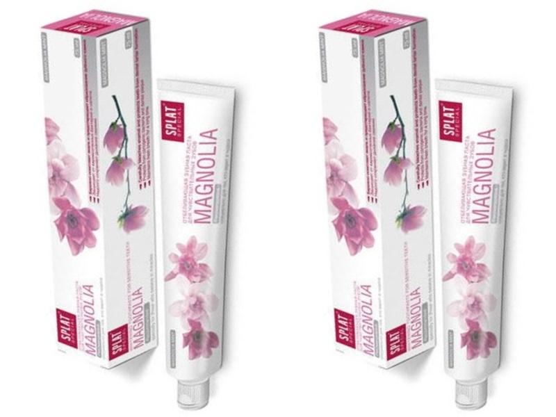 Купить Splat Набор Splat Отбеливающая зубная паста для чувствительных зубов 75 мл*2 штуки (Splat, Special), Россия