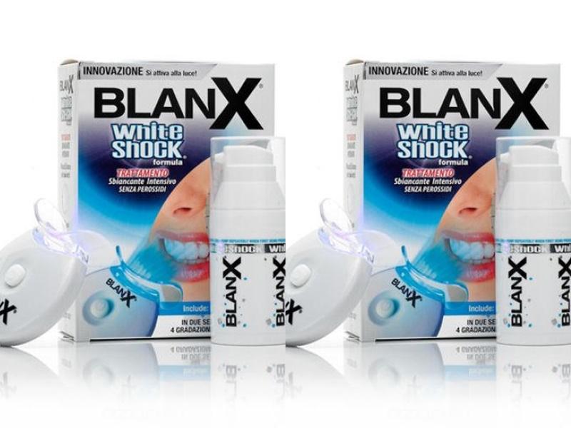 Купить Blanx Набор Отбеливающий уход + Активатор whith shock treatment + Led Bite, 50 мл*2 штуки (Blanx, Специальный уход Blanx), Италия