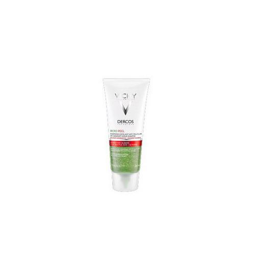 Шампуньпилинг для интенсивного очищения кожи головы  волос против перхоти 200 мл (Vichy, Dercos)