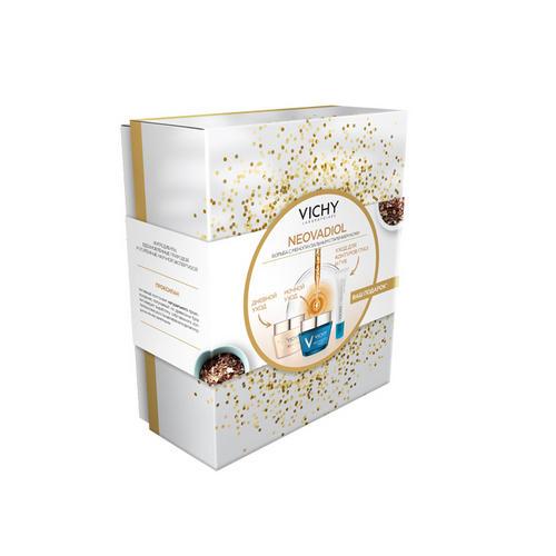 Набор Неовадиол Дневной крем Ночной крем Уход для контура глаз и губ 15 мл (Vichy, Neovadiol) купить крем неовадиол