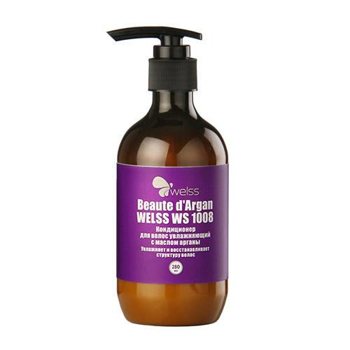 Кондиционер для волос увлажняющий с маслом арганы Beaute dArgan 280 мл (Welss, Роскошные волосы)