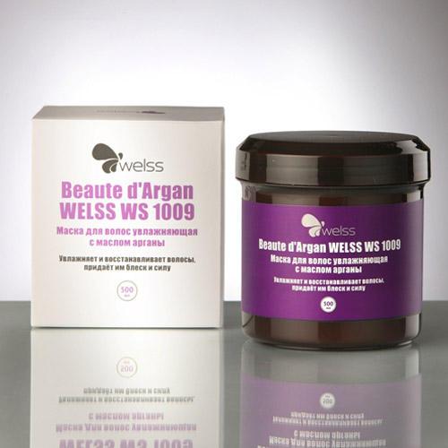 Маска для волос увлажняющая с маслом арганы Beaute dArgan 500 мл (Welss, Роскошные волосы) маска для волос welss welss we015lwjel70