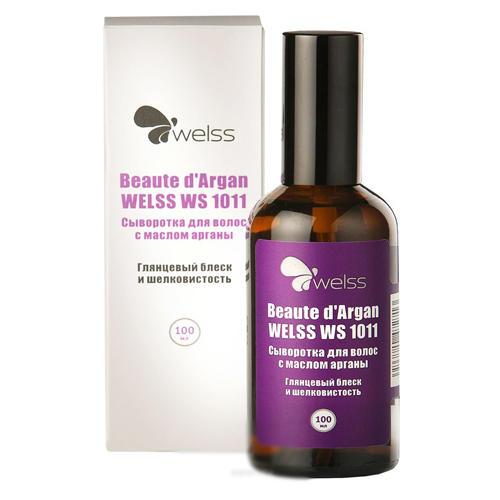 Сыворотка для волос с маслом арганы Beaute d`Argan 100 мл (Роскошные волосы) (Welss)