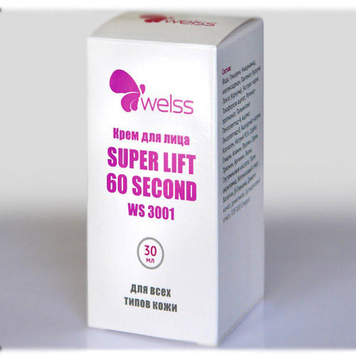 Крем для лица Super Lift 60, 30 мл (Welss, Косметические средства)