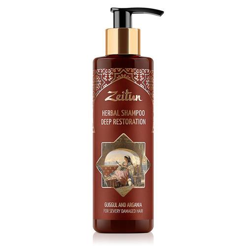 Купить Zeitun Фито-шампунь Глубоко восстанавливающий , для сильно поврежденных волос, 200мл (Zeitun, Для волос), Россия