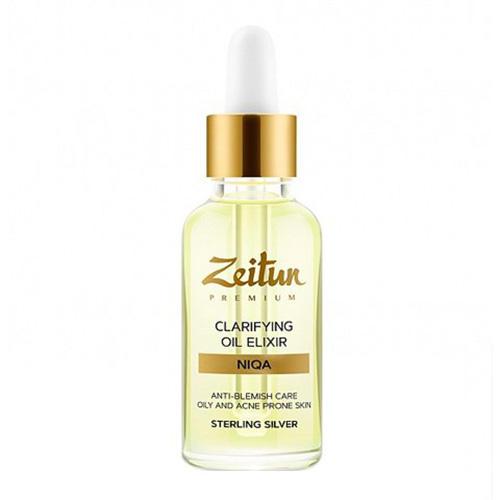 Купить Zeitun Эликсир масляный Niqa , для проблемной кожи лица с серебром, 30мл (Zeitun, Для лица), Россия
