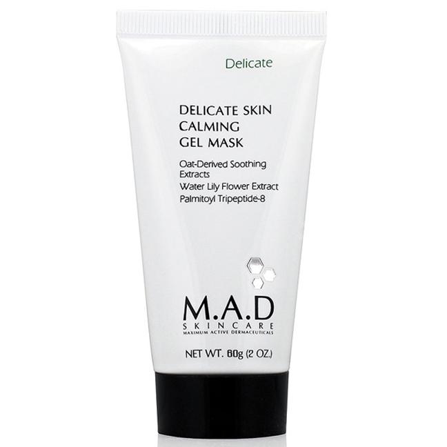 Купить M.A.D. Успокаивающая гелевая маска для ухода за чувствительной кожей, 60 мл (M.A.D., Delicate)