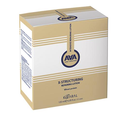 Купить Kaaral Восстанавливающий лосьон для сильно поврежденных волос с пшеничными протеинами X-Structuring Repairing Lotion, 120 мл (Kaaral, X-Form), Италия